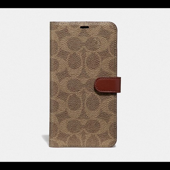 designer fashion 8a45c 39059 Coach iPhone 10 wallet case